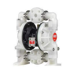 Aro IngersollのランドのプラスチックAoddの膜の空気の空気によって作動させる二重ダイヤフラムポンプ