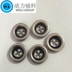 Fabrication professionnelle bouton métal bon marché pour couche de finition