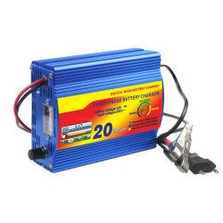 Three-Stages Chargement automatique Chargeur de batterie au plomb 12V 20un commerce de gros