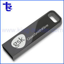 Metall passte Firmenzeichen USB-Blitz-Laufwerk 8GB 16GB USB-Stock an