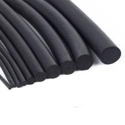 Automotive Round Silicone FKM CR EPDM rubberen afdichtingskoord zacht Rubberen koord met gesloten cel geëxtrudeerde EPDM-schuimspons elastische ring