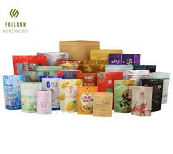 16 anos de experiência em comida de plástico de embalagem stand up pouch Mala chá café Doces de vácuo Snack Pet Papel Saco biodegradável