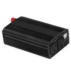 أفضل سعر 12 فولت تيار مستمر إلى 220 فولت تيار متردد 500 واط للسيارة محول مع منفذ USB مزدوج