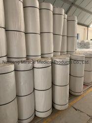 Materiale di consumo medico Jumbo assorbente garza sbiancata rullo