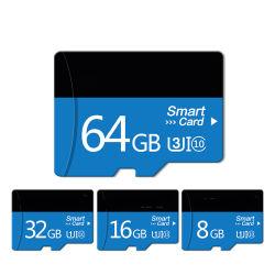 直接販売のカメラのメモリ・カード(TF-4018)の自動データ記録機のための卸し売りバルク買物TF SDのカード8g/16g/32g/64G