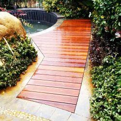 Venda de Alta Densidade do exterior à prova de materiais de construção de bambu tratados Engineered Flooring deck composto de bambu e piso de madeira