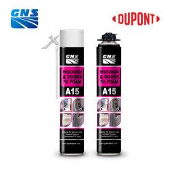 Elevato isolamento termico e schiuma spray in poliuretano monocomponente insonorizzata