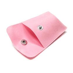 Специальный печатный конверт Суеде Розовая сумка для украшений и упаковочный подарок Сумка с кнопкой
