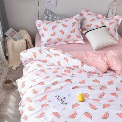 Wassermelone-Frucht-Druck-Baumwolle scherzt Bettwäsche-Blatt für Jungen und Mädchen