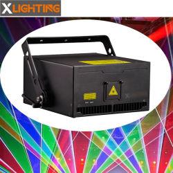 昇進のためのIlda 6W RGBのアニメーション移動ヘッドレーザー