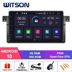 Autoradio des Witson Vierradantriebwagen-Kern Android-10 für CPU 1998-2006 BMW-E46: Vierradantriebwagen-Kern Px30 Cortex-A35 1.5GHz Frequenz