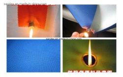 SGS Fire Retardent revestido de poliéster Oxford Fabric