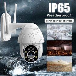 Drahtlose Fernbedienung 2 Megapixel Dome-Sicherheits-IP-Kamera