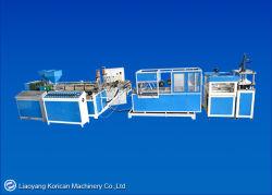 A linha de produção de louça biodegradável