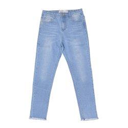 Qualidade elevada Kids Venda Quente Demin calças crianças moda casual meninas calça jeans Yvj-002