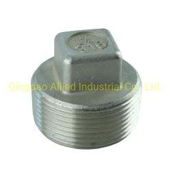 Gewinde der SS-Rohrfitting-ISO4144: Stück-Schlaufe Socekt Couping NPT-Bsp Schutzkappe