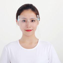 使い捨て可能な安全Eyewearのプラスチック目の盾の歯科目のマスクのハンドシールドの安全ガラスの台所アクセサリ