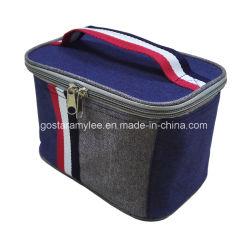 キャンプのための習慣によって絶縁される600d/210dポリエステル非編まれた昇進の使い捨て可能な昼食のクーラー袋
