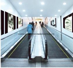 0 grados de transportador de pasajeros automático de mover a pie por escaleras mecánicas para el aeropuerto