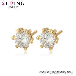 Alliage de cuivre pour les femmes élégantes de zircon Earring