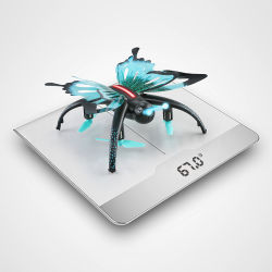 Nouveau Drone papillon de commande à distance populaire rc jouet avion d'avion