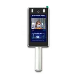 Anerkennungs-thermische Thermometer-Infrarottemperatur-ABTD-Terminal des Gesichts-7inch