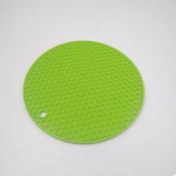 Stuoie termoresistenti antisdrucciolevoli rotonde del silicone dei cuscini della Tabella della camera da letto della famiglia