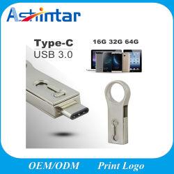C'USB 3.0 OTG USB disque Flash de type mini étanche USB Stick-C Lecteur Flash USB