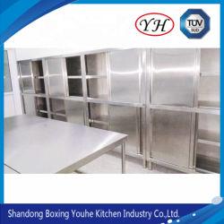 Hot Comercial Restaurante de cocina armario Armario de acero inoxidable