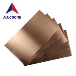 Comitato composito di alluminio di rame dei pannelli di rivestimento del Ccp di Alucoone PVDF che ricicla il rivestimento del metallo di 1200*2400mm per le costruzioni