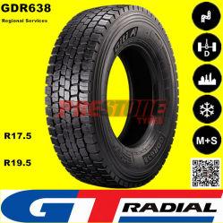 Giti Gt radial del eje de la Unidad Regional de neumáticos para camiones livianos y medianos y los autobuses con R17.5 y r19,5 pulgadas neumáticos