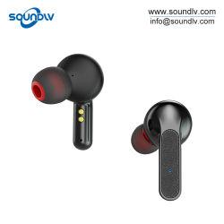Vrai mini-stéréo sans fil Sports oreillettes Bluetooth Casque écouteur magnétique