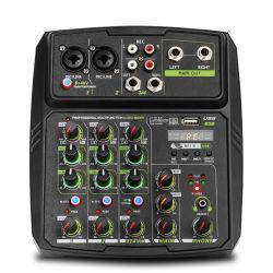 Mini audio sezione comandi professionale del miscelatore di musica del DJ del video del USB con Bluetooth