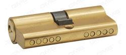 En 1303 Balseta Euro del cilindro de perfil/ el cilindro de latón (GMB-CY-01)