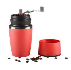 携帯用手動コーヒー豆挽器のコップ