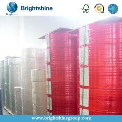 3 pieghe carta per copie senza carbonio della Cina /NCR immagine blu/nera di 55gram/50gram
