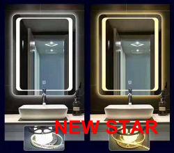 Aluminio plata libre de cobre recubierto de aluminio con doble decorativos de vidrio del espejo de seguridad en el baño de flotación de la hoja de espejo claro de Antigüedades de 2mm 3mm 4mm 5mm 6mm