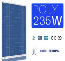 235W полимерная фотоэлектрических солнечных фотоэлектрических панели модуля питания Солнечной системы