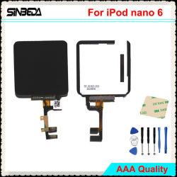 LCD van Sinbeda Vertoning voor Becijferaar van het Scherm van iPod Nano 6 Aanraking