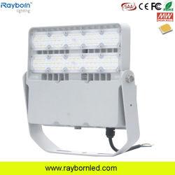 إنارة LED غامرة فائقة الجودة ذات إنارة خارجية بقوة 50 واط 80 واط 100 واط، 150 واط، 200 واط، 300 واط، مصباح جهاز العرض LED بقوة 400 واط، تيار متردد 100-277فولت