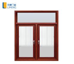 O alumínio/Metal Alumínio Casement/vidro corrediço da porta/Design da grade de ferro