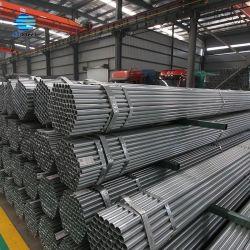 Od 48,3 mm pré Tube en acier galvanisé pour panneaux de clôture
