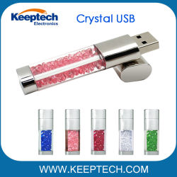 De Aandrijving van de Flits van het kristal USB voor Gift Promotie