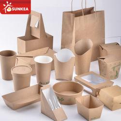 Maßgeschneiderte Einweg-Papier-Produkte Fabrik in China
