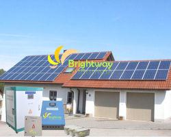 Boa qualidade do sistema de geração de energia solar de 2 kw 3KW 6 kw Sistema do Painel Solar com bateria