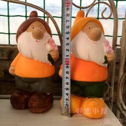 Eindeutige lustige Entwurf Polyresin Gartengnome-Statue-Fertigkeit-Großverkauf Quanzhou Fabrik
