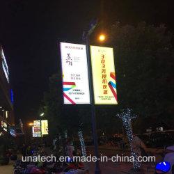 Intelligenter heller Kasten der Stadt-Straßen-Lampen-Pfosten-Anzeigen-LED