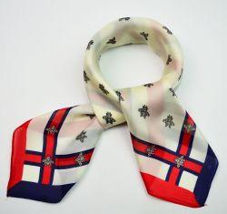 2017 New Design Printing Silk Woman Square Scarf はヨーロッパで人気があります