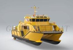 Katamaran-Arbeits-Rettungs-Lieferung des Chinese-100FT 30m große für Verkauf