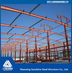 Depósito de uma história única estrutura de aço com material de construção para o depósito
